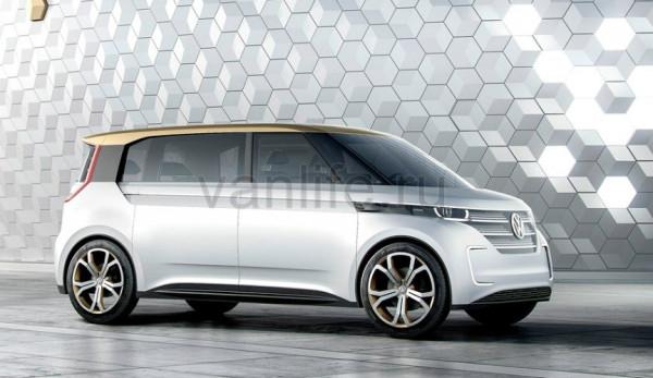 Volkswagen готовится к запуску электрического минивэна класса MPV