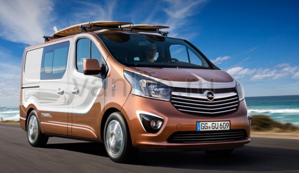 «Opel/Vauxhall Vivaro Surf» – пляжный концепт-кар