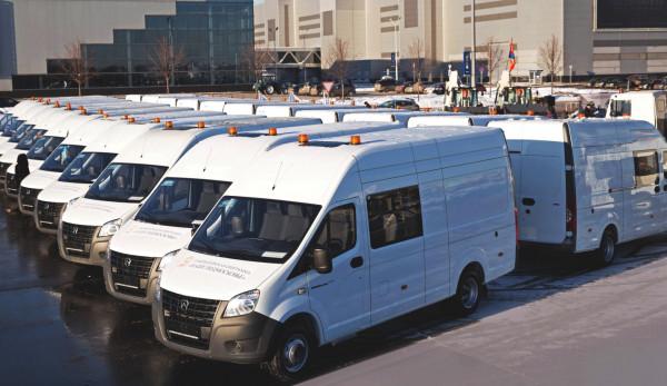 «Группа ГАЗ» поставила фургоны «ГАЗель NEXT» Московской области