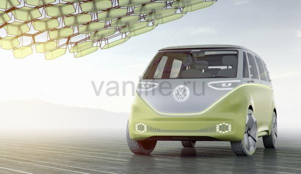 Volkswagen наконец официально представил концепт электрического микроавтобуса