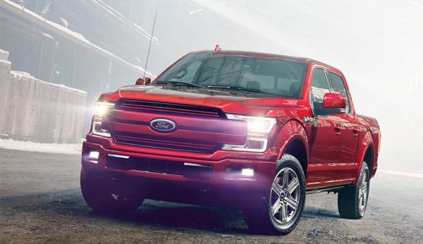 На автошоу в Детройте представлен обновлённый Ford F-150