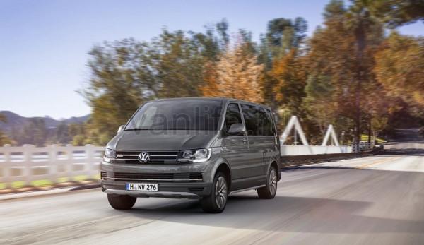 Статистика продаж LCV марки Volkswagen за 2016 год