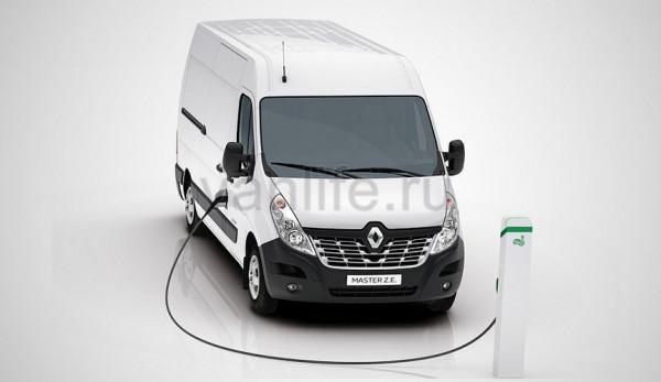 Компания Renault представила электрический фургон Master