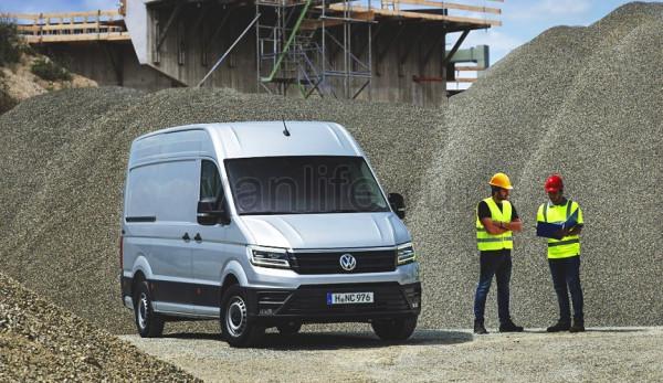Volkswagen озвучил цены на новый Crafter для стран Европы