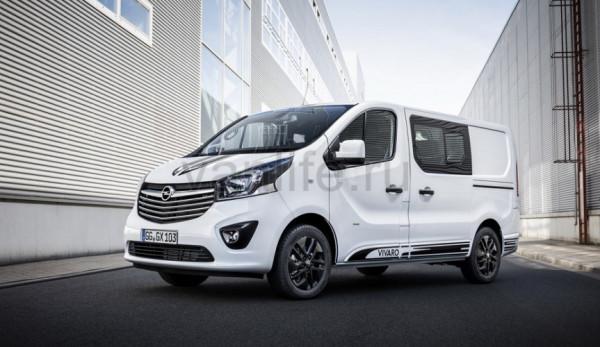 Opel Vivaro Sport стал доступен для заказа в Германии