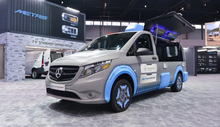 Mercedes-Benz Vito: фургон в виде ящика с инструментами