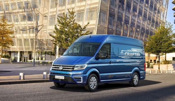 Электрический VW Crafter будет называться E-Transporter