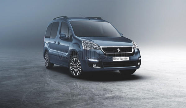 Peugeot Partner Tepee Electric дебютирует в Женеве