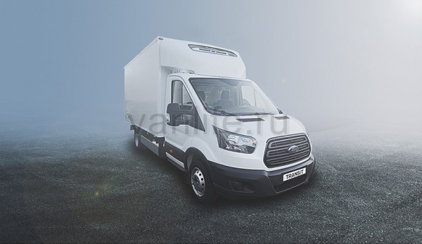 Ford Sollers представляет новый фургон-рефрижератор на базе Ford Transit в России