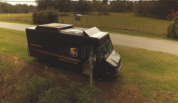 В Америке тестируют фургон с дронами-доставщиками