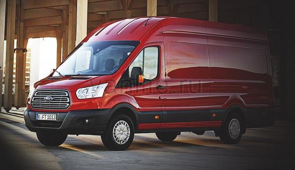 Фургоны Ford Transit получили новую систему безопасности