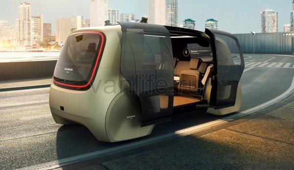 Автономный концепт Sedric от компании Volkswagen