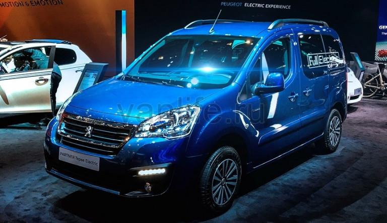 Пассажирский фургон Peugeot Partner Tepee стал электрическим