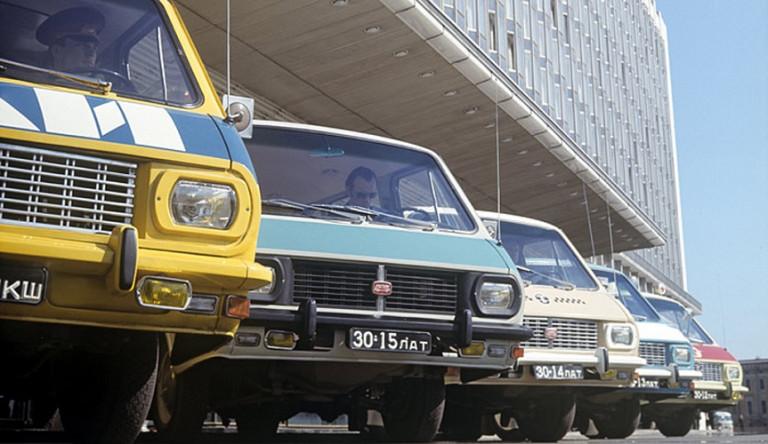 Дрифт и прыжки с трамплина – яркая реклама РАФ в СССР