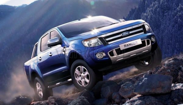 Компания Ford отзывает пикапы Ranger в России