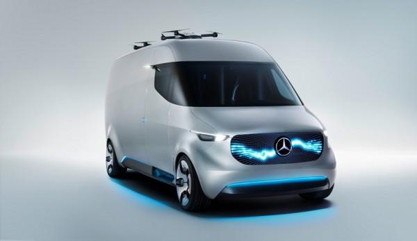 Hermes будет использовать 1500 автомобилей Mercedes-Benz Sprinter и Vito с электроприводом
