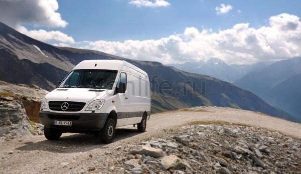 Арт-фургон Mercedes-Benz Sprinter 4x4