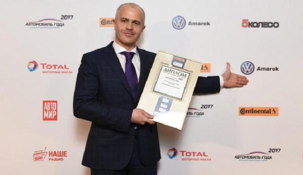 Volkswagen Amarok, Multivan и Transporter стали лучшими автомобилями 2017 года в России
