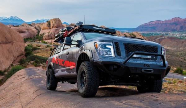 Nissan Titan XD в проекте Basecamp – для истинных исследователей дикой природы