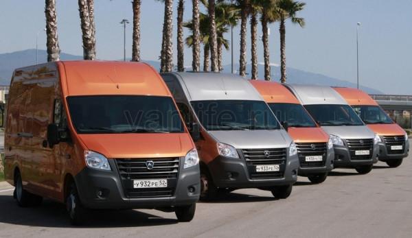 Продажи легкого коммерческого транспорта марки ГАЗ увеличились с начала года