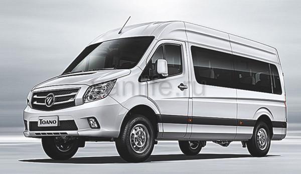 В России будут продавать новые автомобили LCV китайской компании Foton