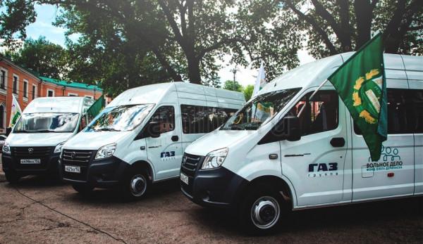 Российскому аграрному университету передали автобусы «ГАЗель NEXT»