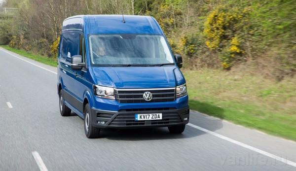 Компания Volkswagen сделает функцию экстренного торможения стандартной для своих коммерческих автомобилей