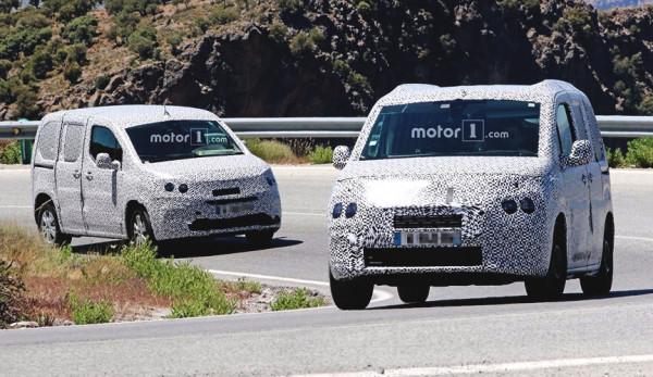Французский производитель PSA тестирует свои новинки - фургоны Peugeot Partner и Citroen Berlingo