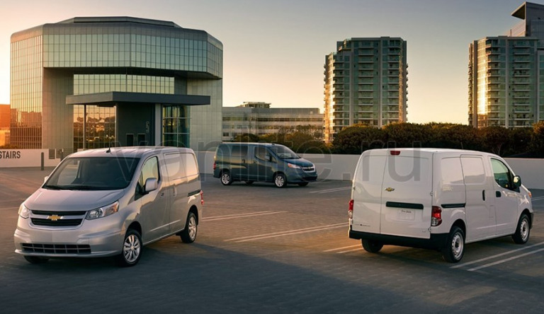 Технические характеристики Chevrolet City Express 2015
