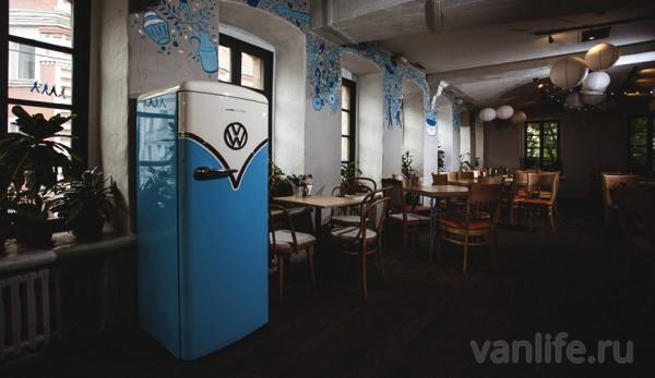 Новый холодильник Bulli припарковался в кафе «Юность»