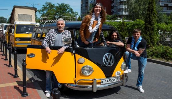 Путешествие от Калининграда до Камчатки на автомобилях Volkswagen серии Т