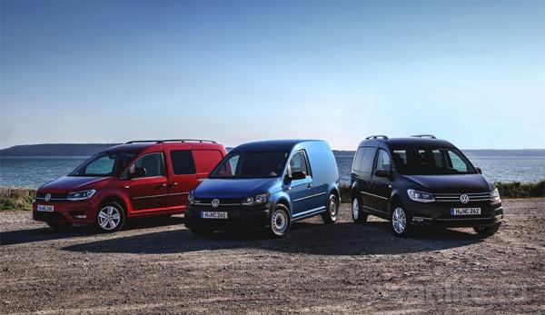 Volkswagen Caddy, Transporter и Amarok вновь названы лучшими среди коммерческих автомобилей